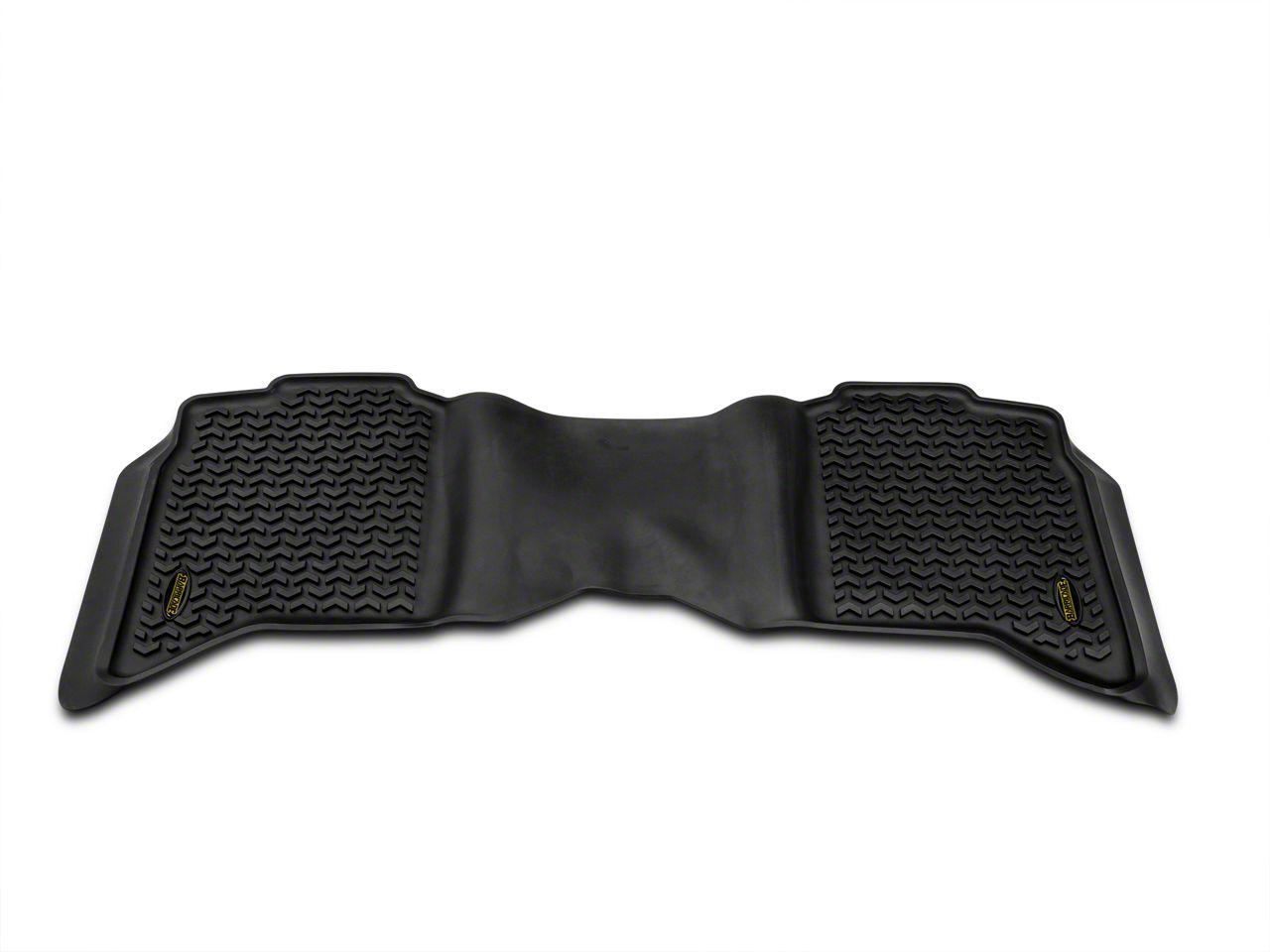 Barricade Rear Floor Mat - Black (09-18 RAM 1500 Crew Cab)