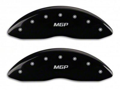 MGP Black Caliper Covers w/ MGP Logo - Front & Rear (11-18 RAM 1500)