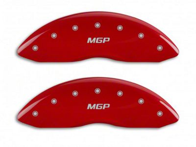 MGP Red Caliper Covers w/ MGP Logo - Front & Rear (11-18 RAM 1500)
