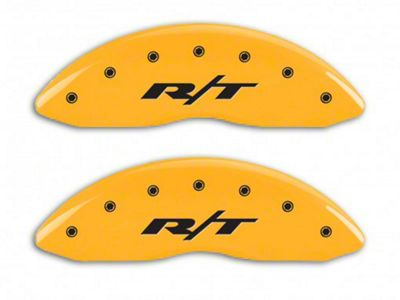 MGP Yellow Caliper Covers w/ RT Logo - Front & Rear (13-18 RAM 1500)