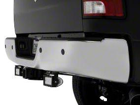ZRoadz Two 6 in. LED Light Bars w/ Rear Bumper Mounting Brackets (09-18 RAM 1500, Excluding Rebel)