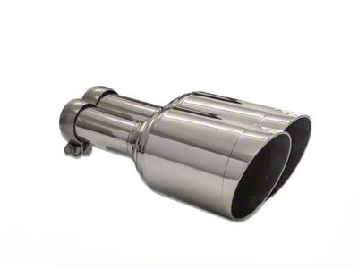 Carven Exhaust Direct Fit 5 in. Exhaust Tips - Polished (09-18 5.7L RAM 1500 w/ Factory Dual Exhaust)