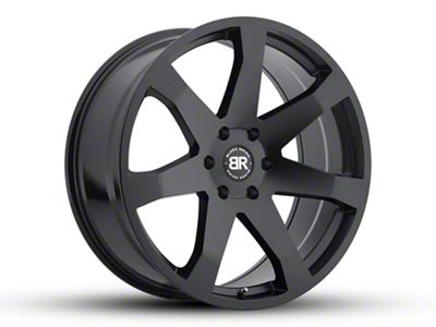 Black Rhino Mozambique Gloss Black Milled 5-Lug Wheel - 20x8.5 (02-18 RAM 1500, Excluding Mega Cab)