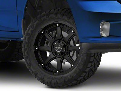 Black Rhino Glamis Matte Black 5-Lug Wheel - 20x9 (02-18 RAM 1500, Excluding Mega Cab)