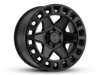 Black Rhino York Matte Black 5-Lug Wheel - 17x9 (02-18 RAM 1500, Excluding Mega Cab)