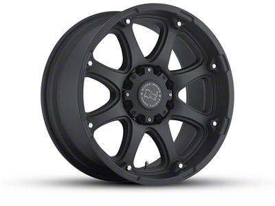 Black Rhino Glamis Matte Black 5-Lug Wheel - 18x9 (02-18 RAM 1500, Excluding Mega Cab)