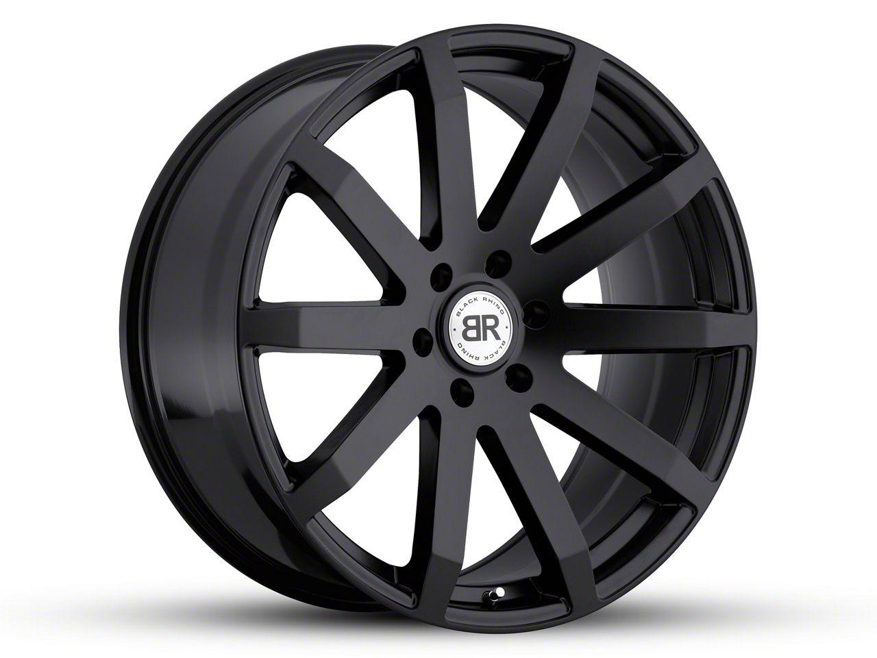 Black Rhino Traverse Matte Black 5-Lug Wheel - 22x9.5 (02-18 RAM 1500, Excluding Mega Cab)