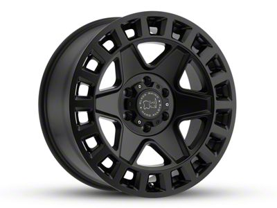 Black Rhino York Matte Black 5-Lug Wheel - 20x9 (02-18 RAM 1500, Excluding Mega Cab)