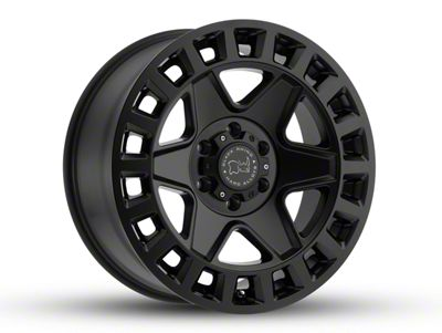 Black Rhino York Matte Black 5-Lug Wheel - 18x9 (02-18 RAM 1500, Excluding Mega Cab)