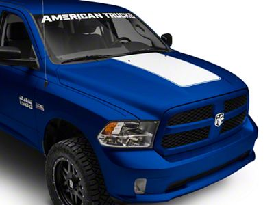 White Hood Decal (09-18 RAM 1500)