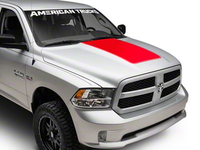 Red Hood Decal (09-18 RAM 1500)