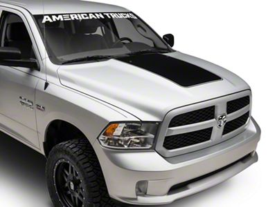 Matte Black Hood Decal (09-18 RAM 1500)