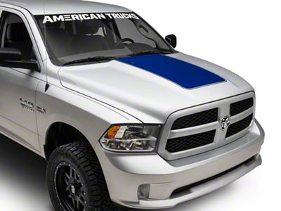 Blue Hood Decal (09-18 RAM 1500)
