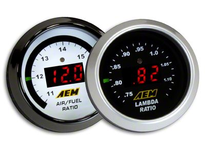 AEM Electronics Digital Wideband UEGO Air Fuel Ratio Gauge (02-19 RAM 1500)