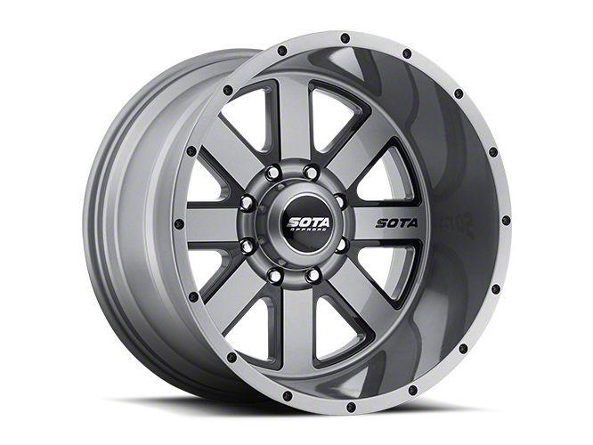 SOTA Off Road A.W.O.L. Anthra-Kote Black 8-Lug Wheel - 22x10.5 (06-08 RAM 1500 Mega Cab)