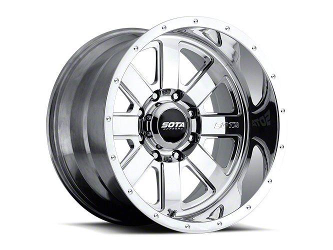 SOTA Off Road A.W.O.L. Polished 8-Lug Wheel - 22x10.5 (06-08 RAM 1500 Mega Cab)