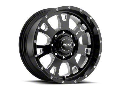 SOTA Off Road BRAWL Death Metal 8-Lug Wheel - 20x12 (06-08 RAM 1500 Mega Cab)
