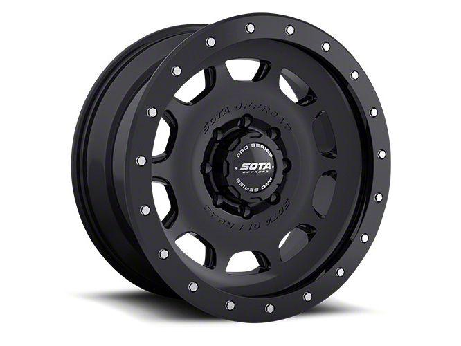SOTA Off Road D.R.T. Stealth Black 8-Lug Wheel - 17x8.5 (06-08 RAM 1500 Mega Cab)
