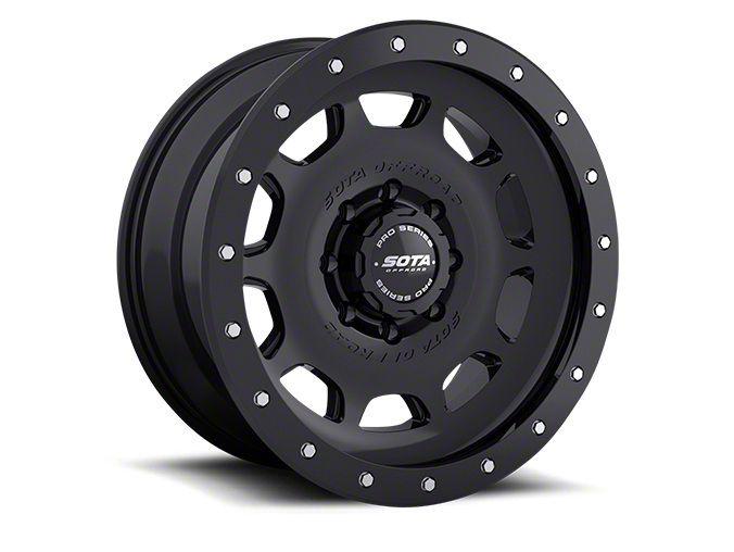 SOTA Off Road D.R.T. Stealth Black 8-Lug Wheel - 20x10 (06-08 RAM 1500 Mega Cab)