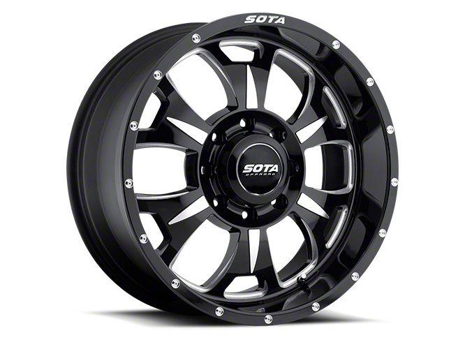 SOTA Off Road M-80 Death Metal 8-Lug Wheel - 17x9 (06-08 RAM 1500 Mega Cab)