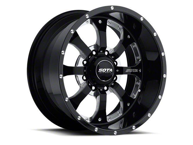 SOTA Off Road NOVAKANE 8 Death Metal 8-Lug Wheel - 20x10 (06-08 RAM 1500 Mega Cab)
