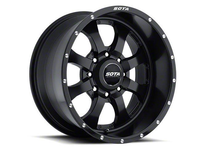 SOTA Off Road NOVAKANE 8 Stealth Black 8-Lug Wheel - 18x9 (06-08 RAM 1500 Mega Cab)