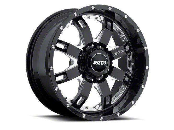 SOTA Off Road R.E.P.R. 8 Death Metal 8-Lug Wheel - 20x10 (06-08 RAM 1500 Mega Cab)