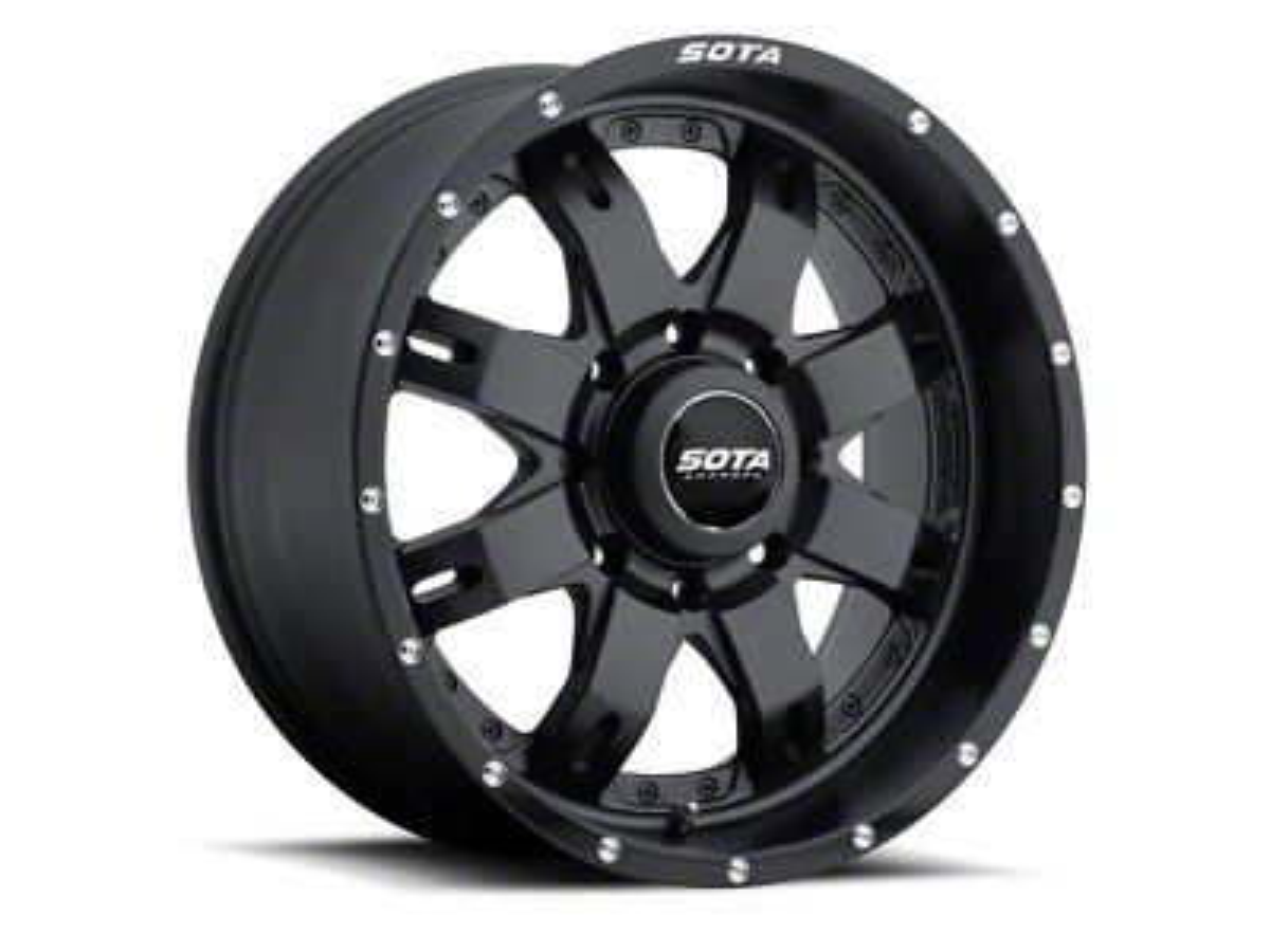 SOTA Off Road R.E.P.R. 8 Stealth Black 8-Lug Wheel - 20x10 (06-08 RAM 1500 Mega Cab)