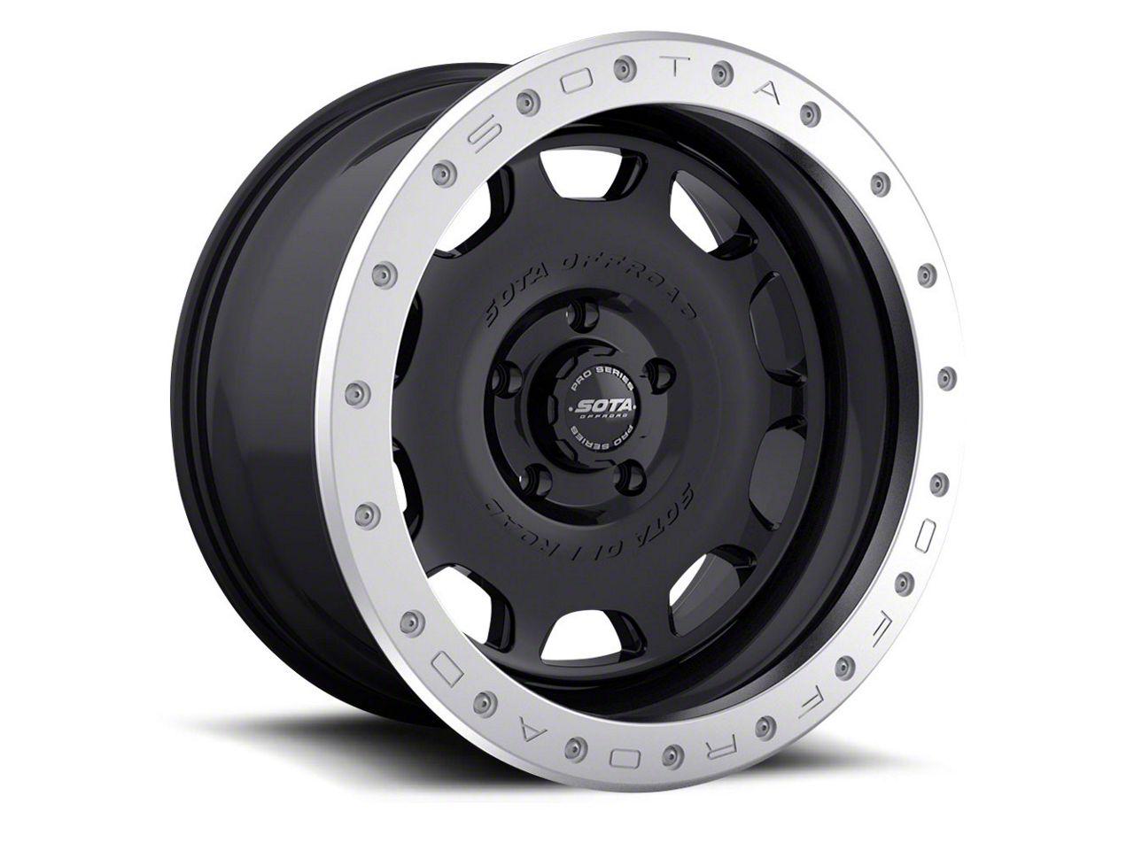 SOTA Off Road D.R.T. Stealth Black 5-Lug Wheel - 20x10 (02-18 RAM 1500, Excluding Mega Cab)