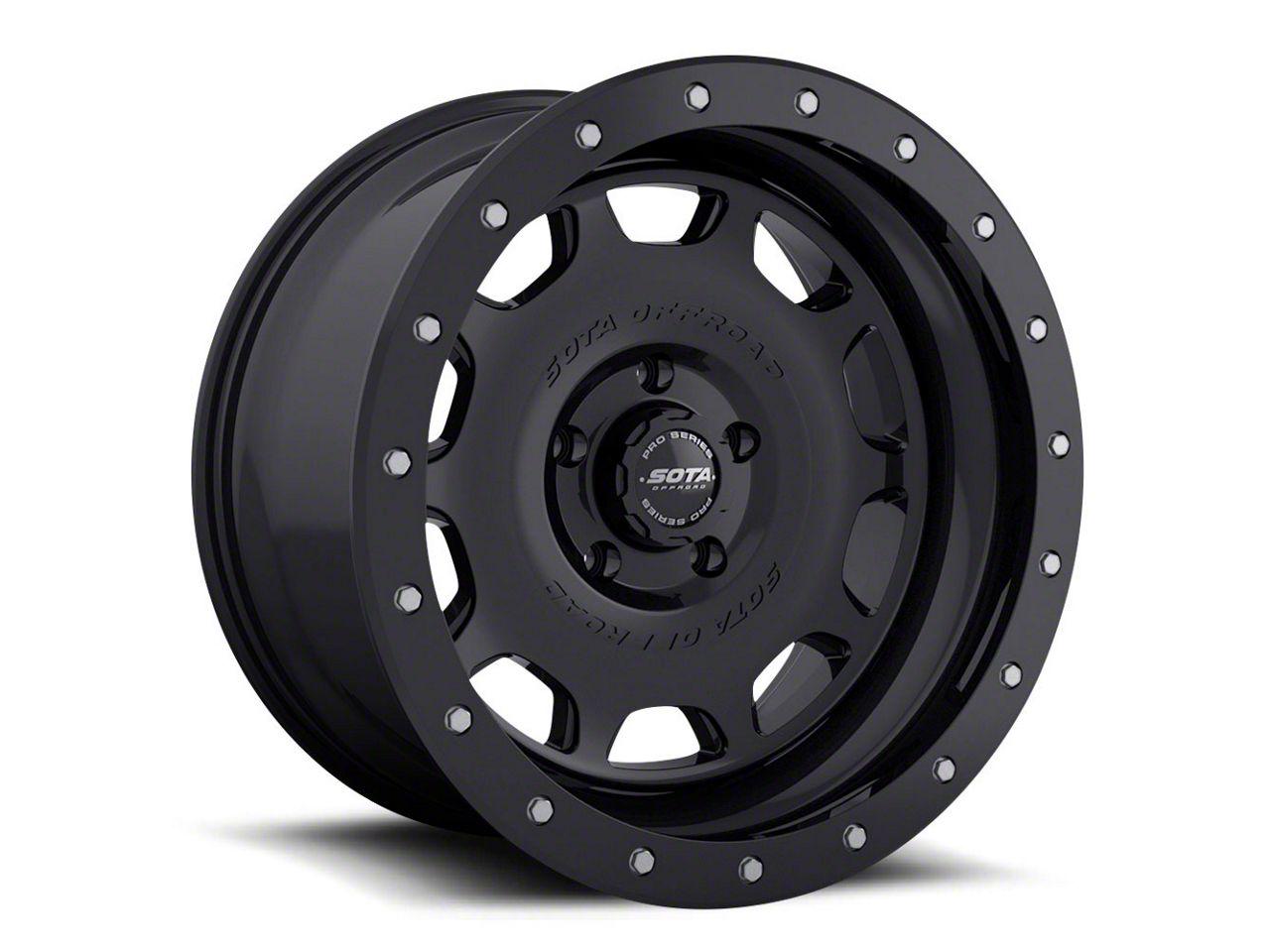 SOTA Off Road D.R.T. Stealth Black 5-Lug Wheel - 17x8.5 (02-18 RAM 1500, Excluding Mega Cab)