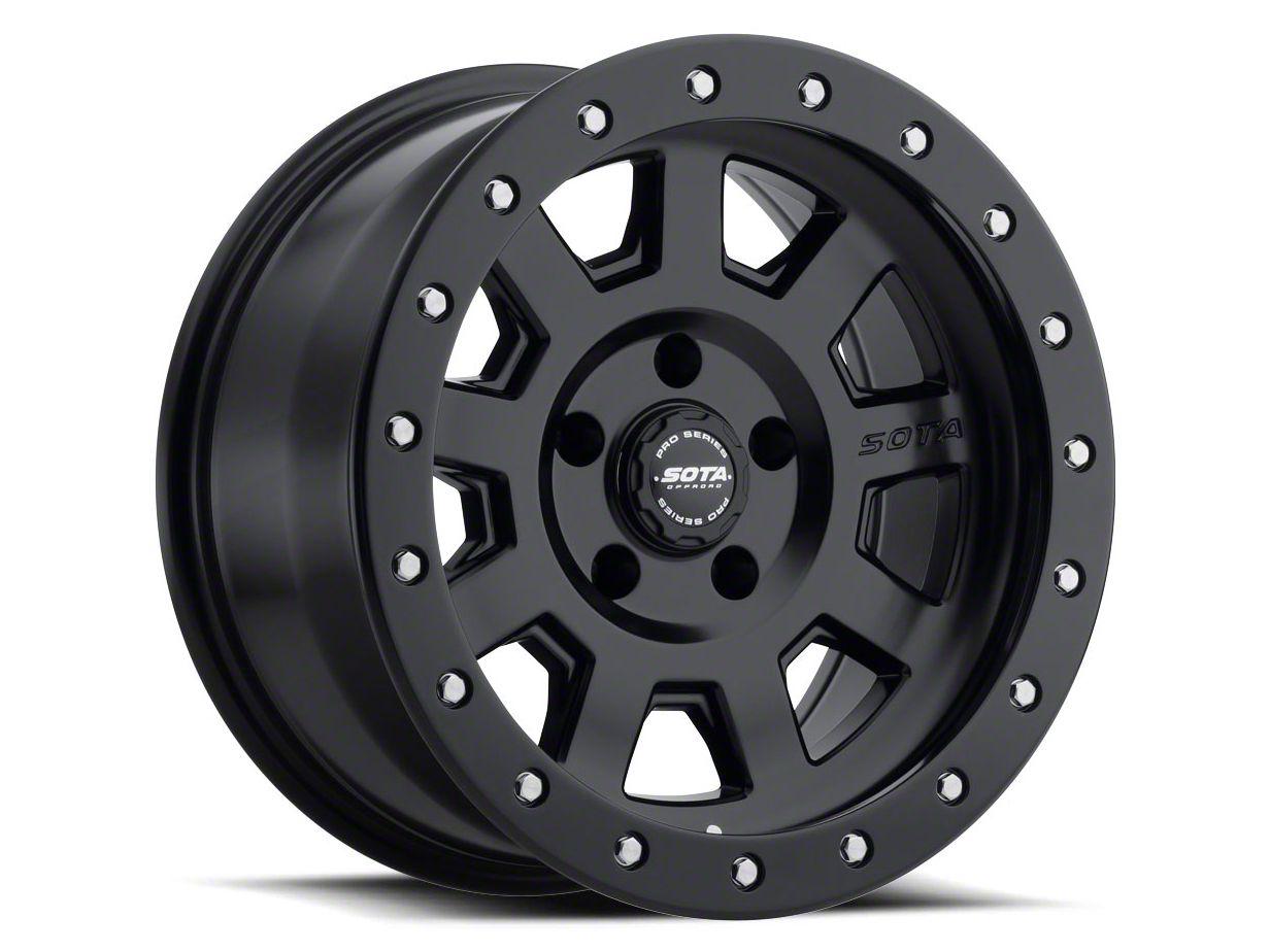SOTA Off Road S.S.D. Stealth Black 5-Lug Wheel - 17x8.5 (02-18 RAM 1500, Excluding Mega Cab)