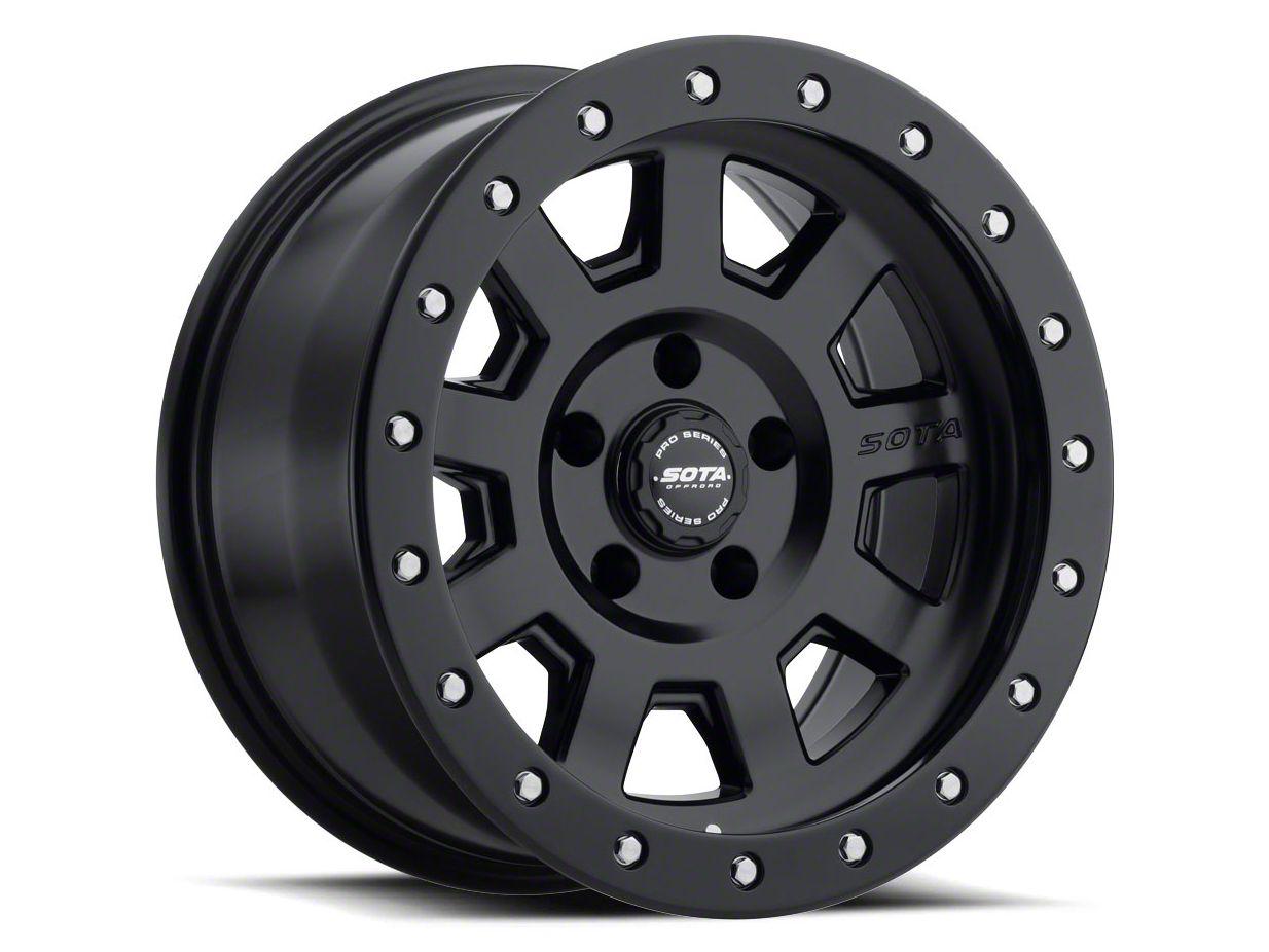 SOTA Off Road S.S.D. Stealth Black 5-Lug Wheel - 20x9 (02-18 RAM 1500, Excluding Mega Cab)