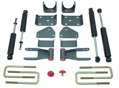 Max Trac Rear Flip Lowering Kit - 5 in. (02-08 2WD RAM 1500, Excluding Mega Cab)
