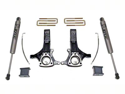 Max Trac MaxPro 4.5 in. Front / 2 in. Rear Lift Kit w/ Fox Shocks (02-08 2WD RAM 1500, Excluding Mega Cab)