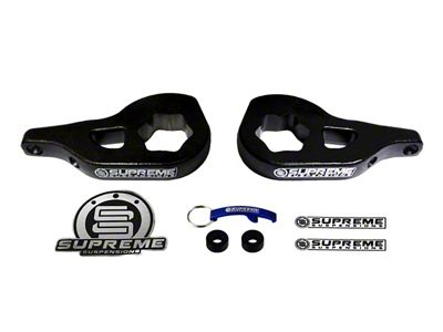 Supreme Suspensions 1-3 in. Front Torsion Key Leveling Kit (02-05 4WD RAM 1500)