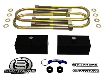Supreme Suspensions 1.5 in. Pro Billet Rear Lift Blocks (06-08 4WD RAM 1500 Mega Cab)
