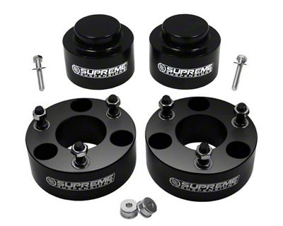 Supreme Suspensions 2.5 in. Front / 1 in. Rear Pro Billet Lift Kit (09-18 4WD RAM 1500 w/o Air Ride)