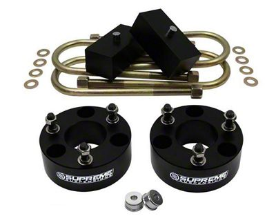 Supreme Suspensions 2.5 in. Front / 2 in. Rear Pro Billet Lift Kit (06-08 4WD RAM 1500, Excluding Mega Cab)