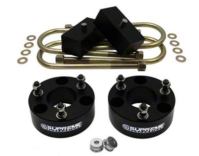 Supreme Suspensions 3 in. Front / 1 in. Rear Pro Billet Lift Kit (06-08 4WD RAM 1500, Excluding Mega Cab & TRX)