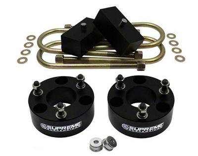 Supreme Suspensions 3 in. Front / 1.5 in. Rear Pro Billet Lift Kit (06-08 4WD RAM 1500, Excluding Mega Cab & TRX)