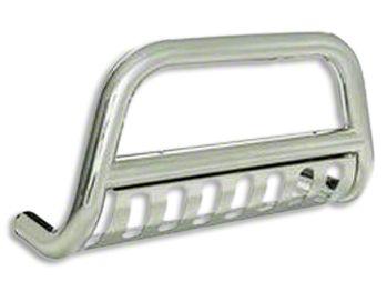 Smittybilt Grille Saver Bull Bar - Stainless Steel (09-18 RAM 1500, Excluding Rebel)