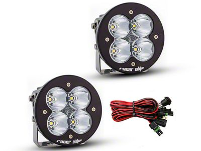Baja Designs XL-R Racer Edition Round LED Lights - High Speed Spot Beam