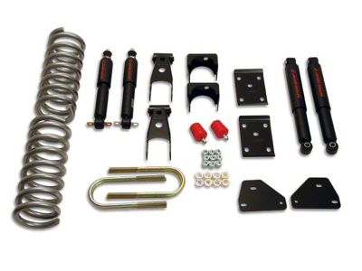 Belltech Lowering Kit - 2 in. Front / 5 in. Rear (06-08 RAM 1500 Regular Cab, Quad Cab)
