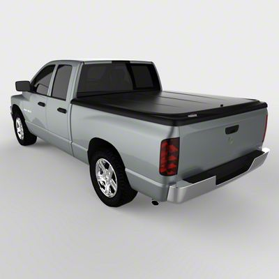 UnderCover SE Hinged Tonneau Cover - Black Textured (02-08 RAM 1500 w/ 6.4 ft. Box)