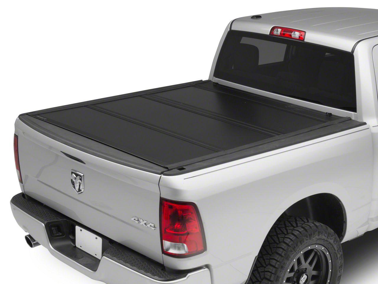 UnderCover Ultra Flex Tri-Fold Tonneau Cover - Black Textured (02-18 RAM 1500 w/ 5.7 ft. & 6.4 ft. Box & w/o RAM Box)
