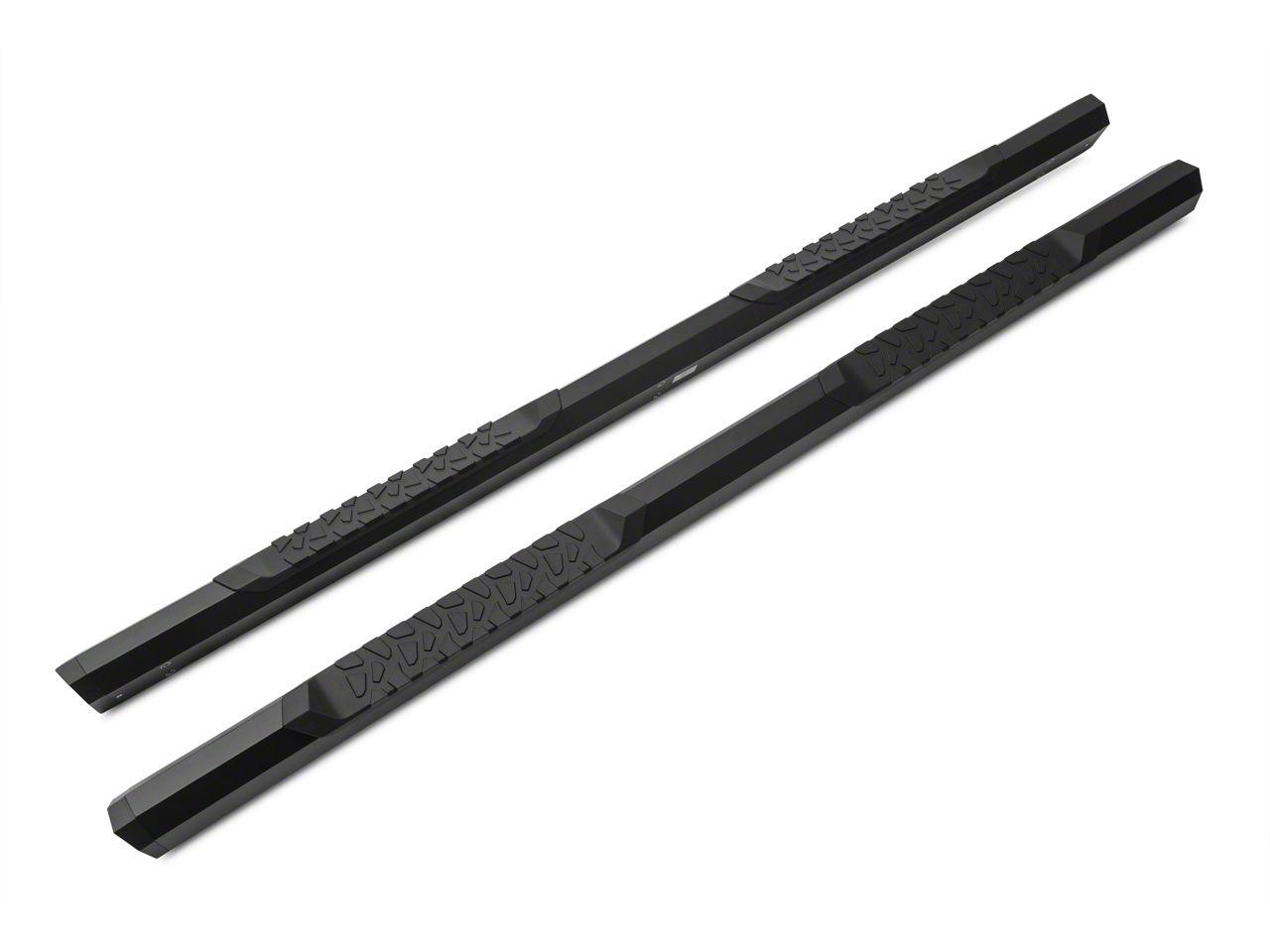 Barricade Octa Side Step Bars - Black (09-18 RAM 1500 Quad Cab, Crew Cab)