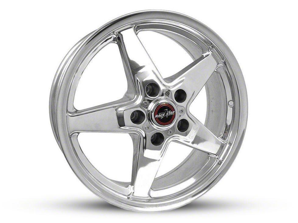 Race Star 92 Drag Star Polished 5-Lug Wheel - Direct Drill - 17x7 (02-18 RAM 1500, Excluding Mega Cab)