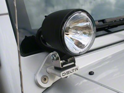Delta 3 in. 300H Series Bullet Xenon Driving Lights - Pair