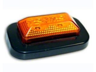 Delta 3.25x2 in. Rectangular Clearance Light - Amber