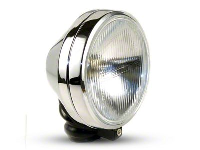 Delta 6 in. 500 Series Round Chrome Long Range Xenon Light